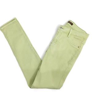 James Jeans Skinny French Lime D0167